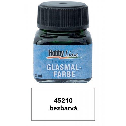 Barva na průhledné sklo HOBBY LINE 20 ml bezbarvá