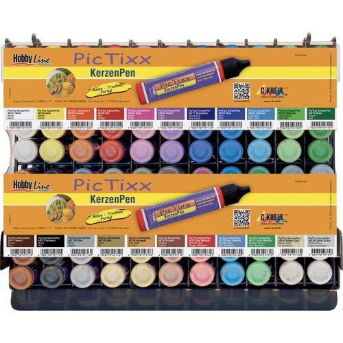 PicTixx Voskové pero pro malování svíček 29 ml - prodejní modul