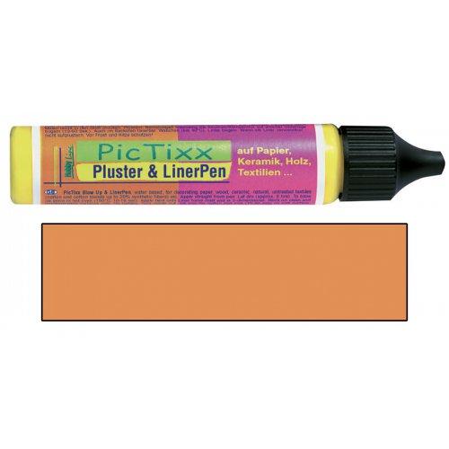Plustrovací pero PicTixx Pluster & LinerPen 29 ml oranžová