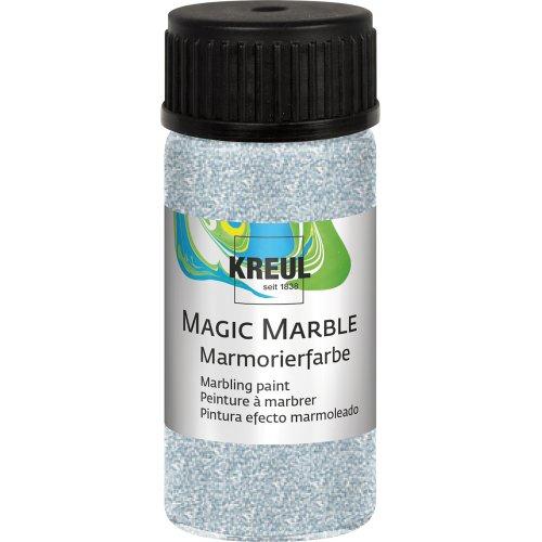Mramorovací barva Magic Marble 20 ml třpytivá stříbrná