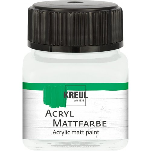 Akrylová barva matná KREUL 20 ml pastelová bílá