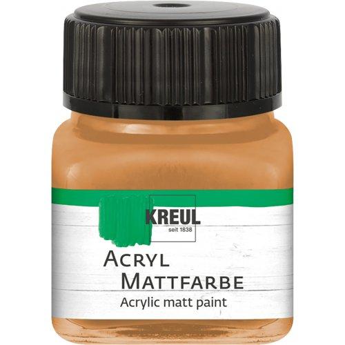 Akrylová barva matná KREUL 20 ml okrová