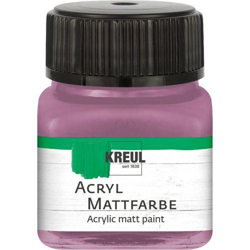 Akrylová barva matná KREUL 20 ml starorůžová