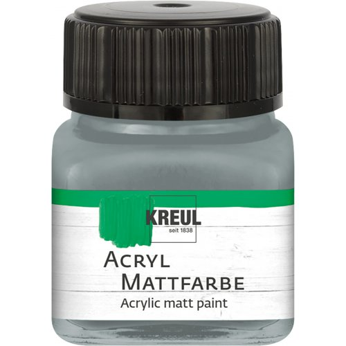 Akrylová barva matná KREUL 20 ml šedá