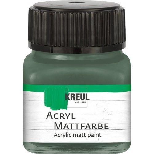 Akrylová barva matná KREUL 20 ml ruská zelená