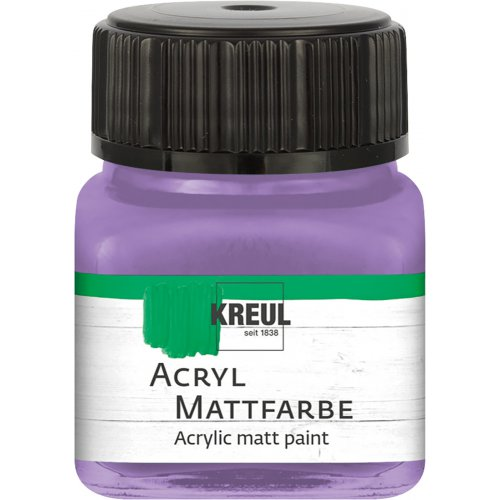 Akrylová barva matná KREUL 20 ml lila