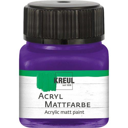 Akrylová barva matná KREUL 20 ml fialová