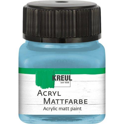 Akrylová barva matná KREUL 20 ml bavorská modrá
