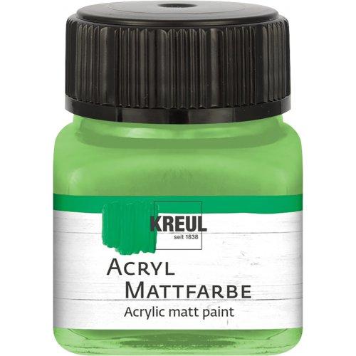 Akrylová barva matná KREUL 20 ml májová zelená