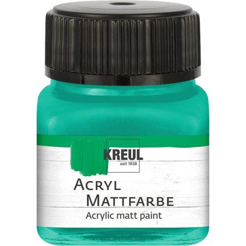 Akrylová barva matná KREUL 20 ml mentolová