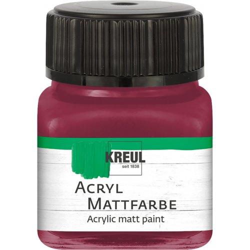 Akrylová barva matná KREUL 20 ml rudé jezero