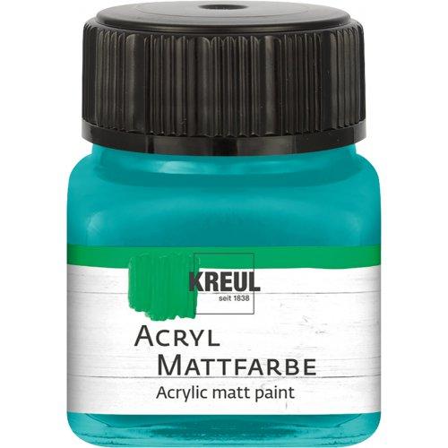 Akrylová barva matná KREUL 20 ml tyrkysová