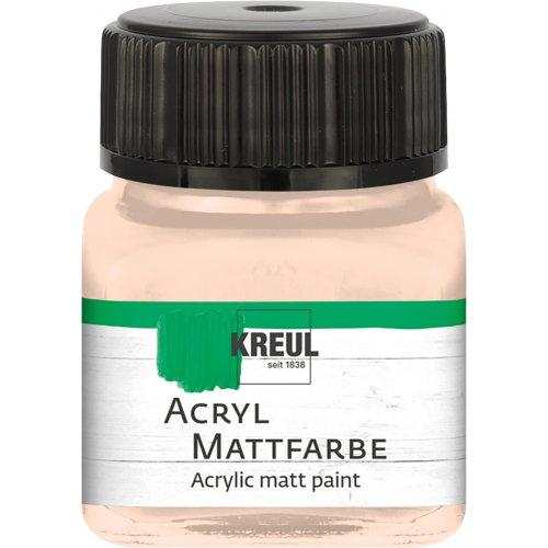 Akrylová barva matná KREUL 20 ml jemně růžová