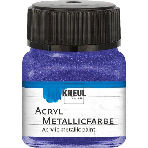 Akrylová barva metalická KREUL 20 ml fialová