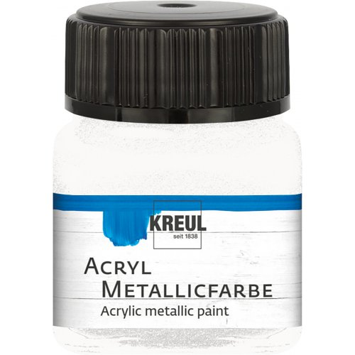 Akrylová barva metalická KREUL 20 ml perleťová