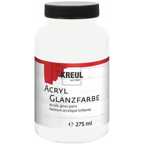 Akrylová barva lesklá KREUL 275 ml bílá