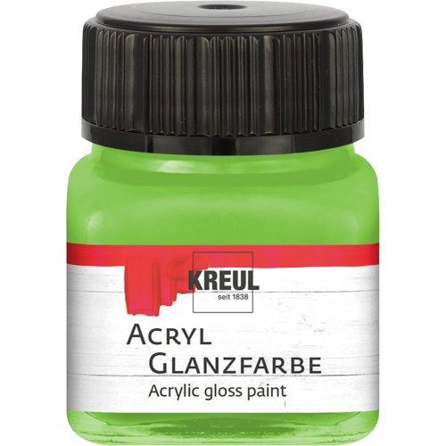 Akrylová barva lesklá KREUL 20 ml májová zelená