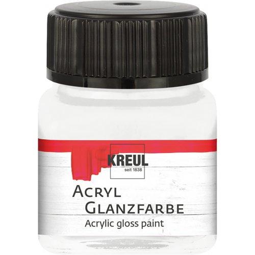 Akrylová barva lesklá KREUL 20 ml bezbarvá