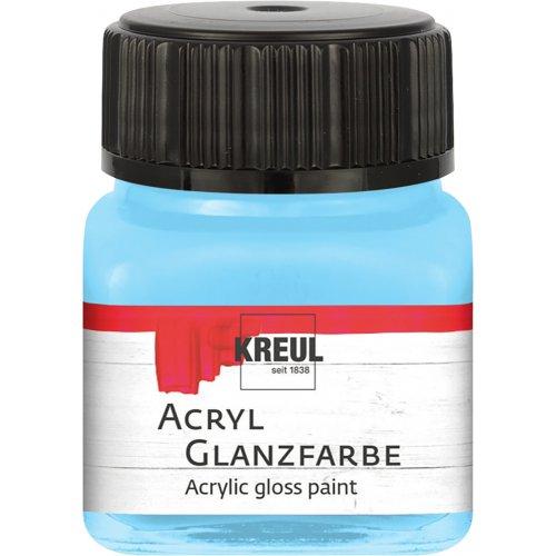Akrylová barva lesklá KREUL 20 ml pastelová modrá