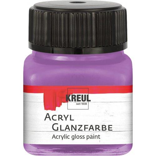 Akrylová barva lesklá KREUL 20 ml lila