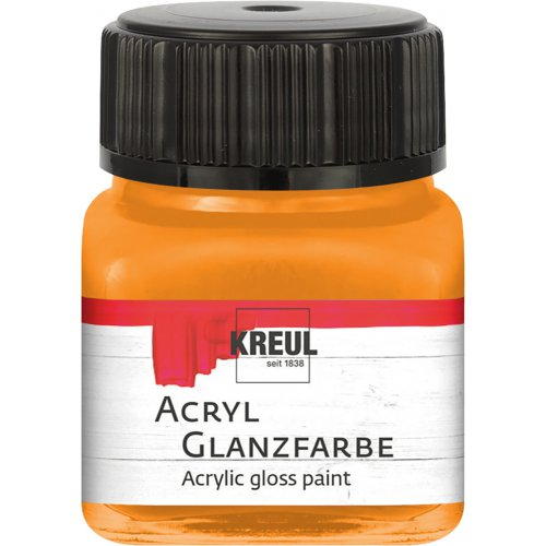 Akrylová barva lesklá KREUL 20 ml meruňková