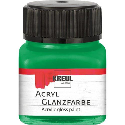 Akrylová barva lesklá KREUL 20 ml tmavě zelená