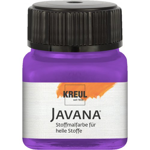 Barva na světlý textil JAVANA 20 ml fialová