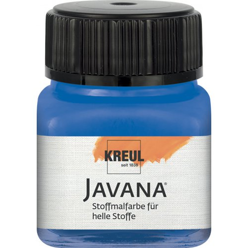 Barva na světlý textil JAVANA 20 ml královská modrá
