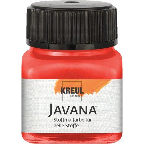 Barva na světlý textil JAVANA 20 ml červená