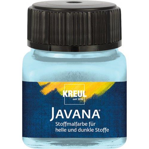 Barva na světlý a tmavý textil JAVANA 20 ml ledová modrá