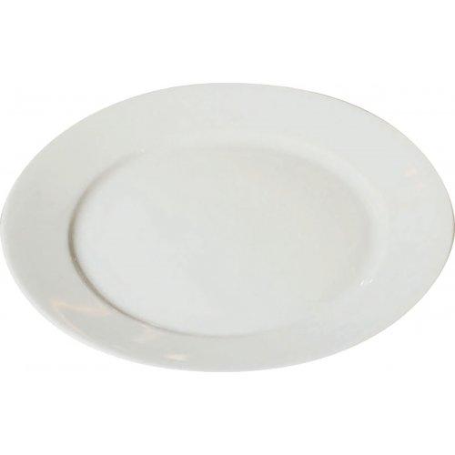 Porcelánový talíř bílý
