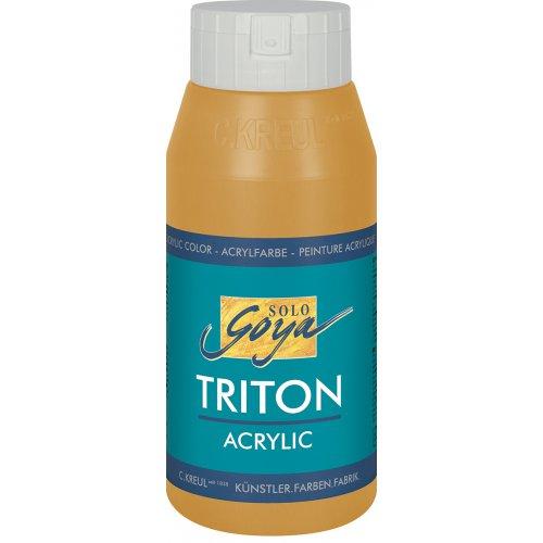 Akrylová barva TRITON SOLO GOYA 750 ml světle okrová