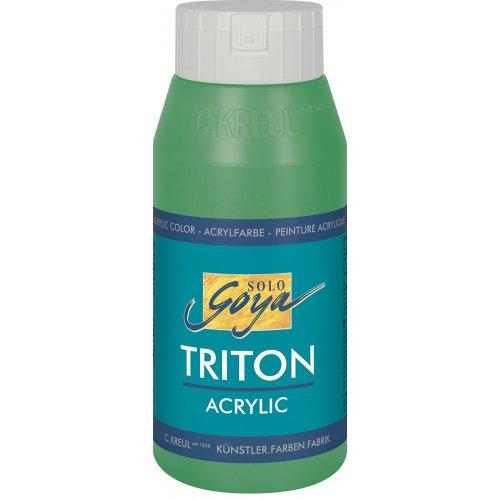 Akrylová barva TRITON SOLO GOYA 750 ml pernamentní zelená