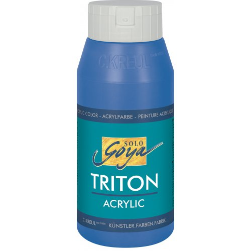 Akrylová barva TRITON SOLO GOYA 750 ml kobaltová modrá