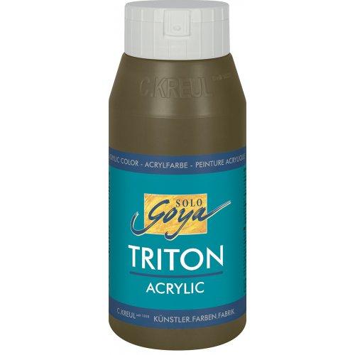 Akrylová barva TRITON SOLO GOYA 750 ml rezavě zelená
