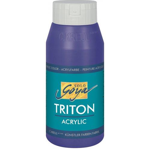 Akrylová barva TRITON SOLO GOYA 750 ml FIALOVÁ
