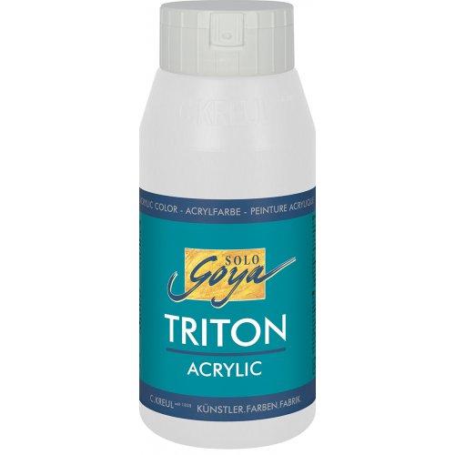 Akrylová barva TRITON SOLO GOYA 750 ml bílá