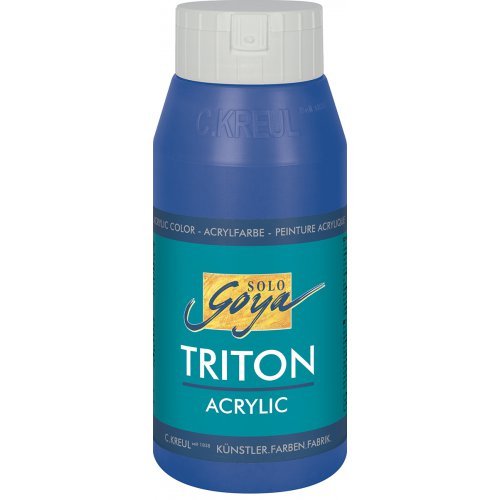 Akrylová barva TRITON SOLO GOYA 750 ml ultramarínová modrá