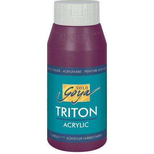 Akrylová barva TRITON SOLO GOYA 750 ml bordó