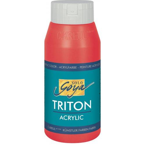 Akrylová barva TRITON SOLO GOYA 750 ml třešňová