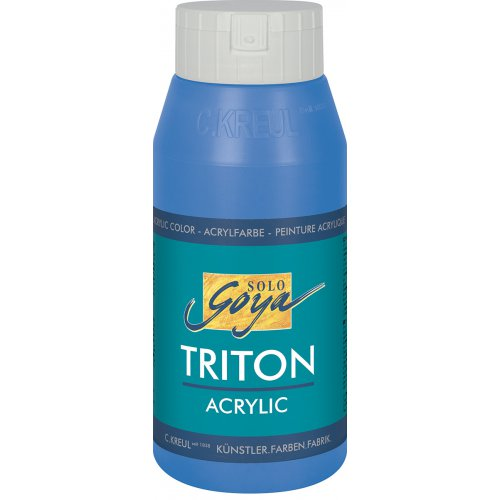 Akrylová barva TRITON SOLO GOYA 750 ml primární modrá