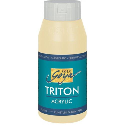 Akrylová barva TRITON SOLO GOYA 750 ml béžová