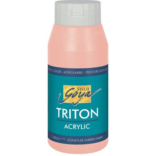 Akrylová barva TRITON SOLO GOYA 750 ml portrétní růžová