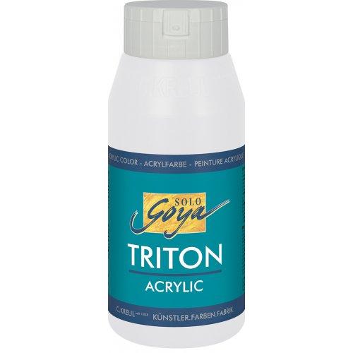 Akrylová barva TRITON SOLO GOYA 750 ml bílá míchaná