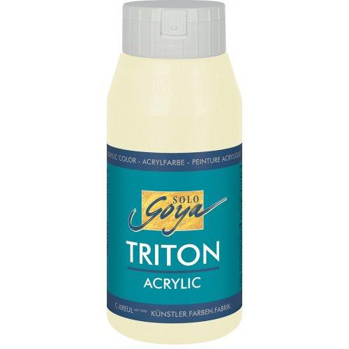 Akrylová barva TRITON SOLO GOYA 750 ml slonovinová