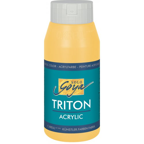 Akrylová barva TRITON SOLO GOYA 750 ml kadmium žlutá