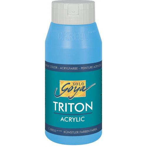 Akrylová barva TRITON SOLO GOYA 750 ml světle modrá