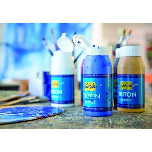 Akrylová barva TRITON SOLO GOYA 750 ml cerulean modrá - SOLO GOYA_Kuenstler_TritonAcrylic_image1.jpg