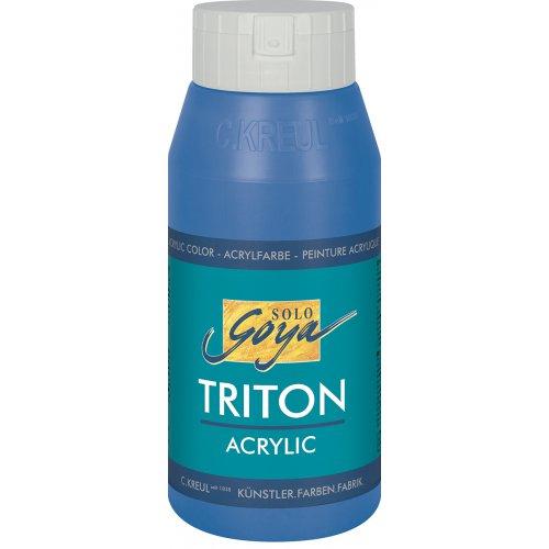 Akrylová barva TRITON SOLO GOYA 750 ml cerulean modrá
