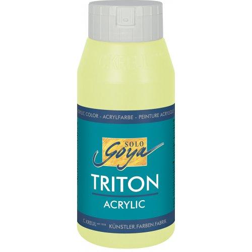 Akrylová barva TRITON SOLO GOYA 750 ml bledá zelená